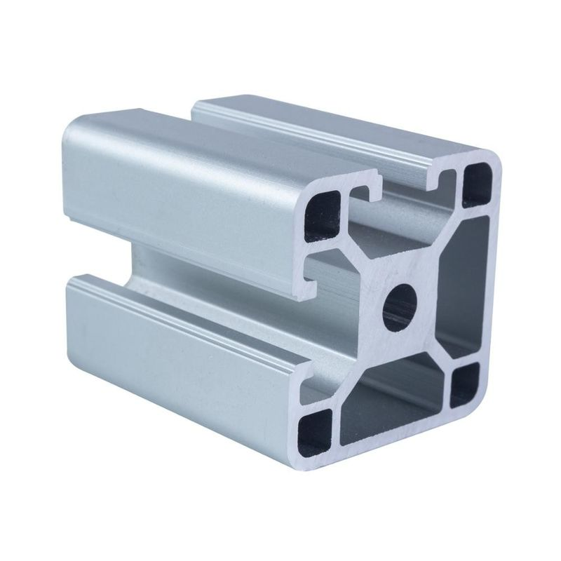Square 1.80kg/m 4000 Series Anodized Aluminium Profiles